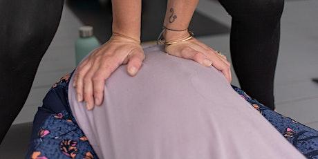 Restorative Yoga with Gentle Yoga Massage tickets