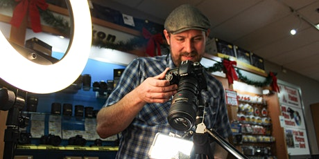1:1 Photography Class with Gabe (Beaverton Shutterbug) tickets
