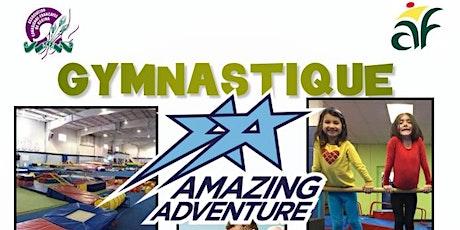 Cours de gymnastique pour enfants en français à Amazing Adventure billets