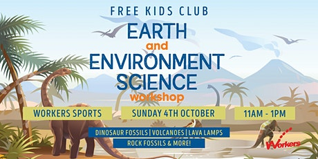 Kids Club - Earth and Environment Science Workshop tickets