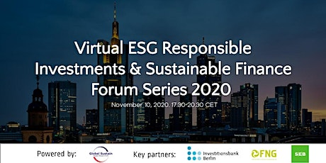 5th Virtual ESG Investments & Sustainable Finance Forum Berlin 2020 tickets