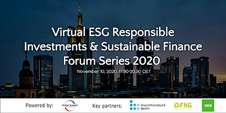 5th Virtual ESG Investments & Sustainable Finance Forum Frankfurt 2020 tickets
