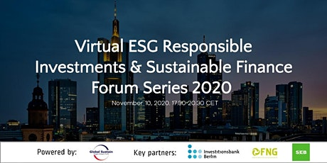 5th Virtual ESG Investments & Sustainable Finance Forum Athens 2020 tickets