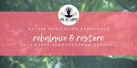 Nature Meditation Experience | Rebalance and Restore tickets