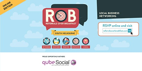 Online Edition: South Melbourne - Referrals over Breakfast (RoB) tickets