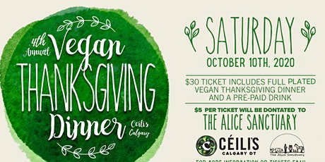 Ceilis Annual Vegan Thanksgiving tickets
