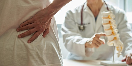 New Help for Chronic Back and Leg Pain tickets