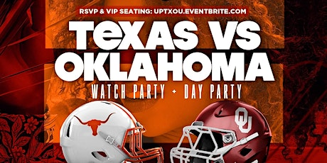 TX/OU Watch Party + Day Party tickets