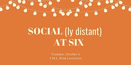 October Social(ly Distant) at Six: M.L. Rose — Capitol View Location tickets