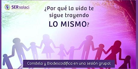 Constelaciones Familiares + Biodescodificación tickets