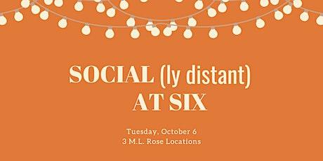 October Social(ly Distant) at Six: M.L. Rose — Sylvan Park Location tickets