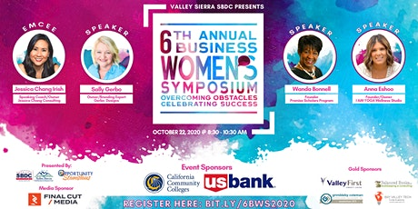 6th Annual Business Women's Symposium Virtual Event tickets