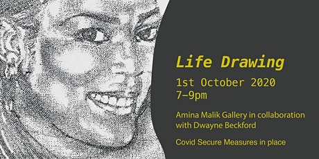 Life Drawing with Dwayne Beckford tickets