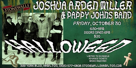 Joshua Arden Miller & Pappy Johns Band HALLOWEEN tickets