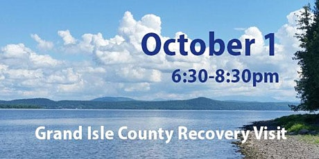 Grand Isle County COVID Recovery Visit: Recovery to Renewal and Resilience tickets