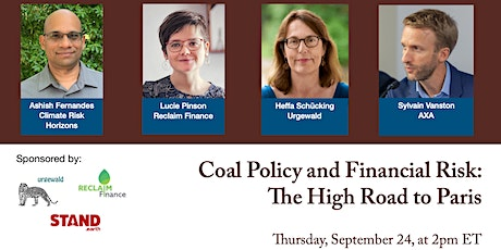 Coal Policy and Financial Risk: 