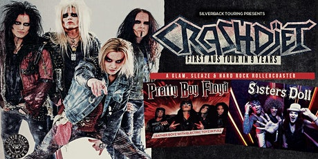 CRASHDIET - Sisters Doll support discount ticket tickets