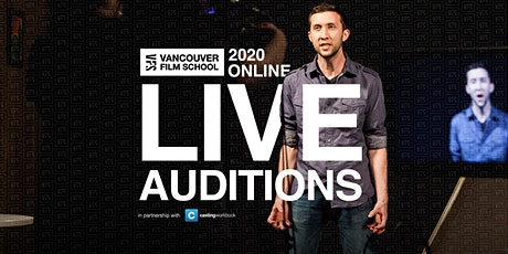 VFS Acting Program Live Audition Tour | Europe and Middle East tickets