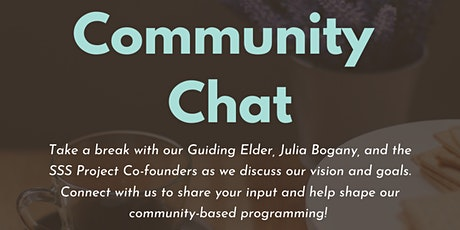 Community Chat with SSS Project Team! tickets