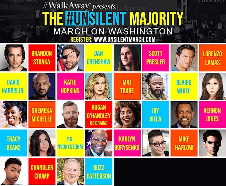 #WalkAway Presents: Unsilent Majority March image