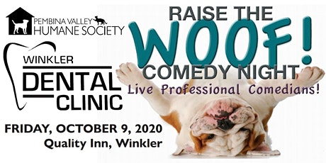 Winkler Dental's Raise the Woof Comedy Night tickets