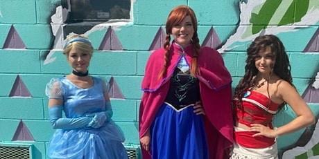 Princess Party with DIY Wands tickets