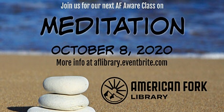 AF Aware: Meditation tickets
