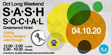 ★ S.A.S.H Social ★ A Seated Food & Drinks Affair ★ tickets