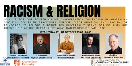 Conversations on Racism: Racism and Religion tickets