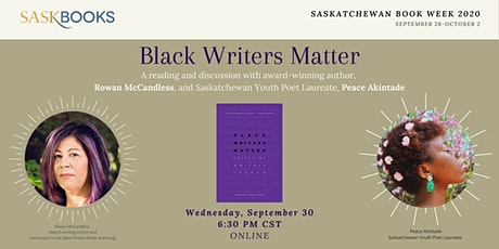 Black Writers Matter: Peace Akintade and Rowan McCandless Reading tickets