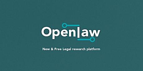 TeLENZ webinar: OpenLaw NZ - free, open-access platform for legal info tickets