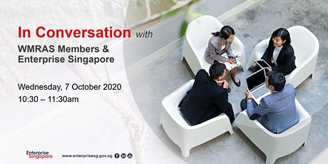 In Conversation with Enterprise Singapore tickets