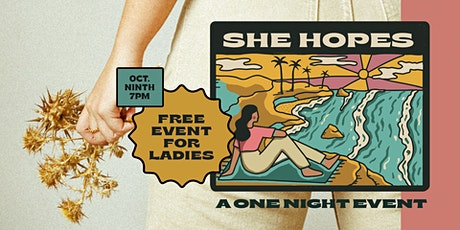 Child Care for SHE Night tickets