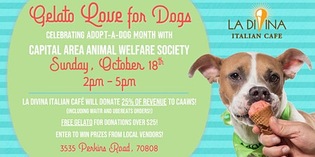 Gelato Love for Dogs:   A CAAWS Fundraiser tickets
