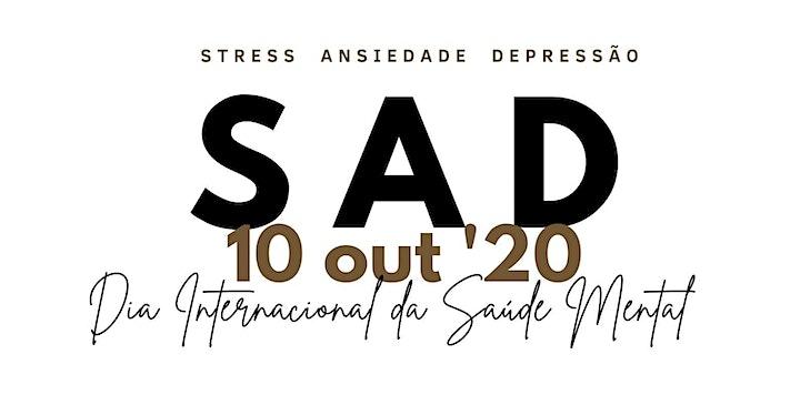 Imagem do evento SAD_ STRESS,  ANSIEDADE E DEPRESSÃO.