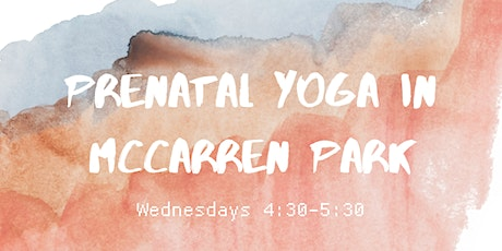 Weekly Prenatal Yoga in McCarren Park tickets