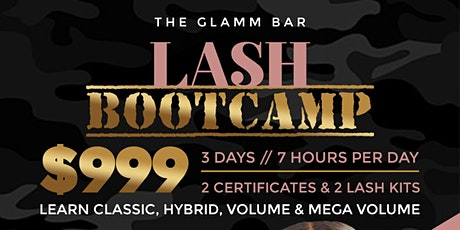 Lash Boot Camp tickets