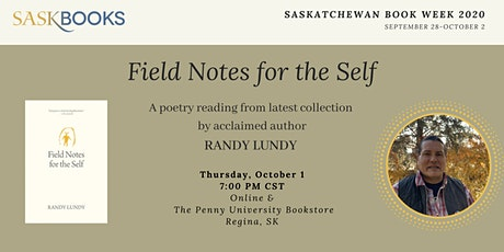 Field Notes for the Self: Randy Lundy Micro-Reading for Book Week 2020 tickets