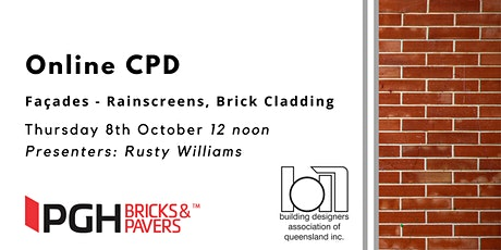 Online CPD: Façades - Rainscreens and Brick Cladding tickets