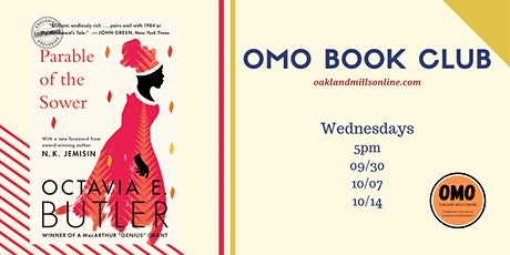 OMO's Bookclub: Parable of the Sower by Octavia E. Butler tickets
