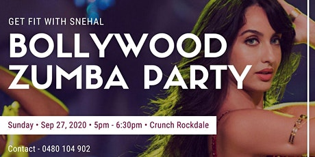 Bollywood Zumba party @ Rockdale Crunch Fitness tickets
