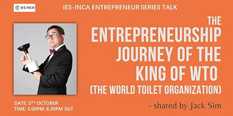 The Entrepreneurship Journey of the King of the World Toilet Organization tickets