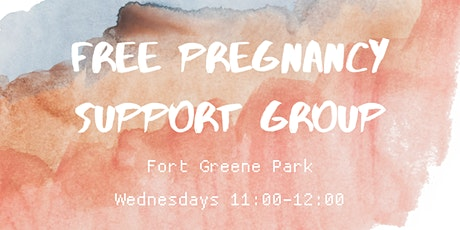 Free Pregnancy Support Group tickets