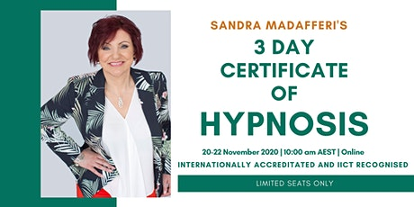 Certificate of Hypnosis tickets