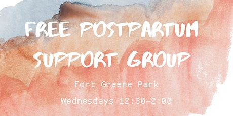 Free Postpartum Support Group tickets