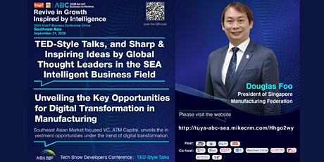 SMF 2020 AI+IoT Southeast Asia Edition Business Conference Online tickets
