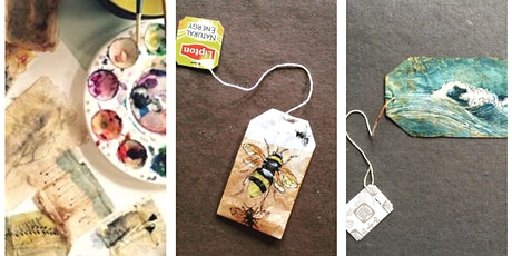 Eco Tea Bag Bookmarks tickets