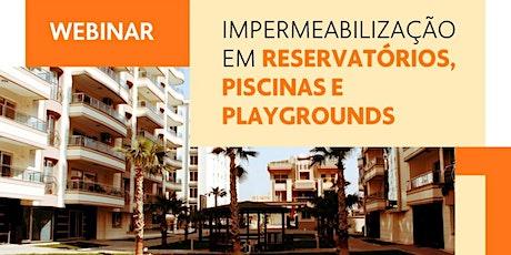 WEBINAR EXPO SÍNDICO & AEI: IMPERMEABILIZAÇÃO EM CONDOMÍNIOS - 30/09 ingressos