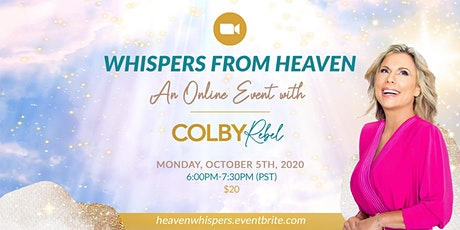 Whispers from Heaven-an Online Evening of Spirit Messages tickets