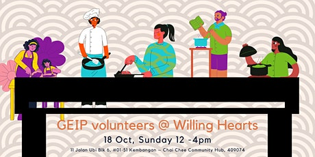 GEIP Volunteers @ Willing Hearts tickets